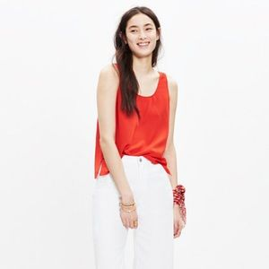 Madewell Silk Sundown Tank